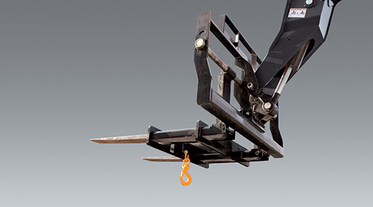 Cat_JLG Lifting Hook - Image Customer Rental Order Form | Premier Platforms